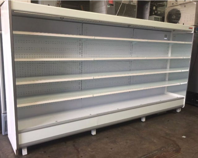 Refrigerated Remote Cabinets Retail Shop Fittings